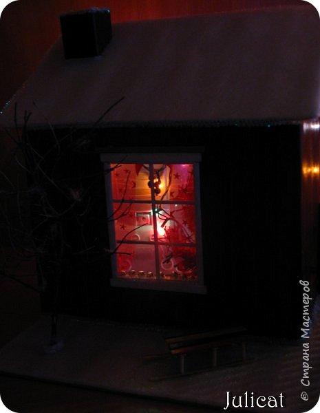 Приветствую Вас, уважаемые мастера и мастерицы!!!! Хочу представить вам мою новую работу - поделку в детский сад дочке ко дню Святого Николая - новогодний домик-румбокс. Конечно. было еще над чем поработать. но за полдня и ночь - все, что успела.... Делала взахлеб, не заметила, как утро наступило))))) Думаю. результат того стоил) фото 24