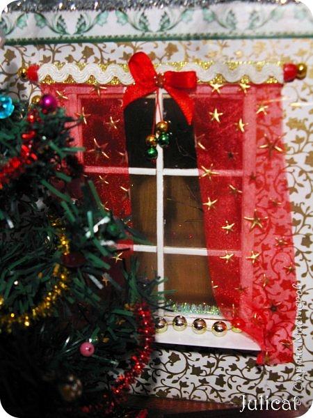 Приветствую Вас, уважаемые мастера и мастерицы!!!! Хочу представить вам мою новую работу - поделку в детский сад дочке ко дню Святого Николая - новогодний домик-румбокс. Конечно. было еще над чем поработать. но за полдня и ночь - все, что успела.... Делала взахлеб, не заметила, как утро наступило))))) Думаю. результат того стоил) фото 15