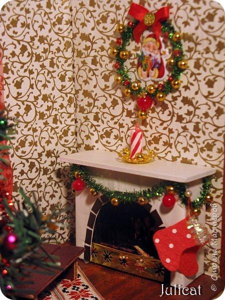 Приветствую Вас, уважаемые мастера и мастерицы!!!! Хочу представить вам мою новую работу - поделку в детский сад дочке ко дню Святого Николая - новогодний домик-румбокс. Конечно. было еще над чем поработать. но за полдня и ночь - все, что успела.... Делала взахлеб, не заметила, как утро наступило))))) Думаю. результат того стоил) фото 16