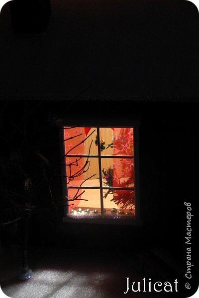 Приветствую Вас, уважаемые мастера и мастерицы!!!! Хочу представить вам мою новую работу - поделку в детский сад дочке ко дню Святого Николая - новогодний домик-румбокс. Конечно. было еще над чем поработать. но за полдня и ночь - все, что успела.... Делала взахлеб, не заметила, как утро наступило))))) Думаю. результат того стоил) фото 11