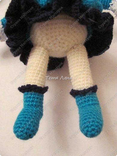 Игрушка Мастер-класс Новый год Вязание крючком Козочка в шубке МК Пряжа фото 34