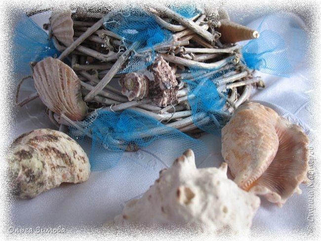 Ещё одна подарочная ёлочка на морскую тематику. фото 9