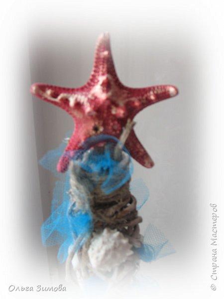 Ещё одна подарочная ёлочка на морскую тематику. фото 11