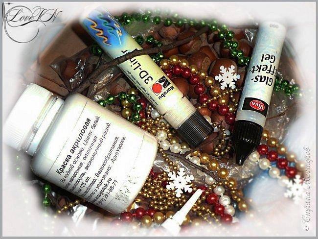 Добрый вечер!!! Осталось совсем немного времени до Нового года!!! Может быть ещё успеете сделать новогодний веночек из природных даров? Предлагаю вашему вниманию мастер-класс (он состоит из двух частей!), по которому я и наваяла маленькое чудо.   Вторая часть МК - https://stranamasterov.ru/node/863131 фото 4