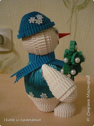 Продолжаю учится делать игрушки из гофрокартона и готовится к Новому году. фото 6
