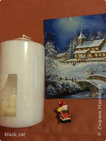 Мастер-класс Свечки к Новому году  фото 2