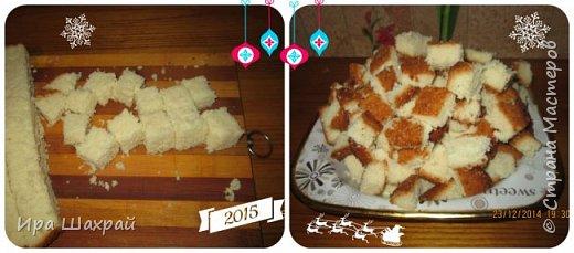 Кулинария Мастер-класс Новый год Рецепт кулинарный Сметанный торт-суфле Новогодний соблазн МК Продукты пищевые фото 5