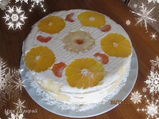 Кулинария Мастер-класс Новый год Рецепт кулинарный Сметанный торт-суфле Новогодний соблазн МК Продукты пищевые фото 1
