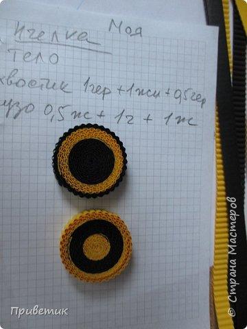 Вдохновившись уроками Елены Ивановны https://stranamasterov.ru/julena и картинкой из Интернета, сделала такую вот Пчелку. фото 2