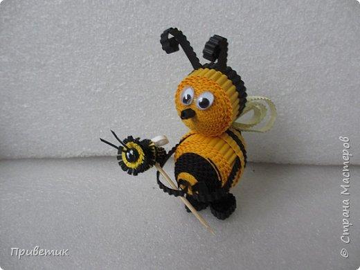 Вдохновившись уроками Елены Ивановны https://stranamasterov.ru/julena и картинкой из Интернета, сделала такую вот Пчелку. фото 6