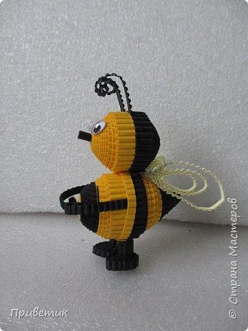 Вдохновившись уроками Елены Ивановны https://stranamasterov.ru/julena и картинкой из Интернета, сделала такую вот Пчелку. фото 7