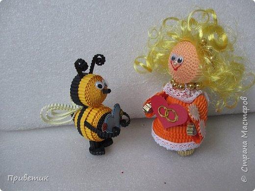 Вдохновившись уроками Елены Ивановны https://stranamasterov.ru/julena и картинкой из Интернета, сделала такую вот Пчелку. фото 9
