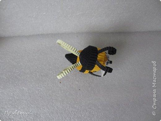 Вдохновившись уроками Елены Ивановны https://stranamasterov.ru/julena и картинкой из Интернета, сделала такую вот Пчелку. фото 8