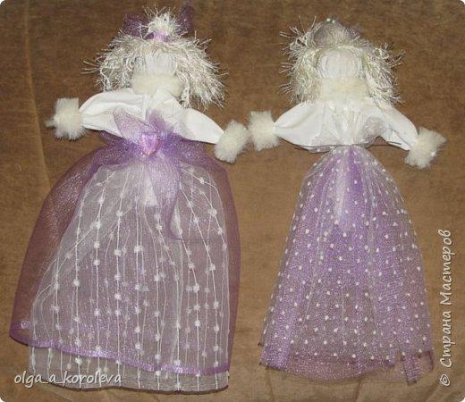 Очень нежные, воздушные куклы-травницы. Набиты лепестками флоксов. фото 2