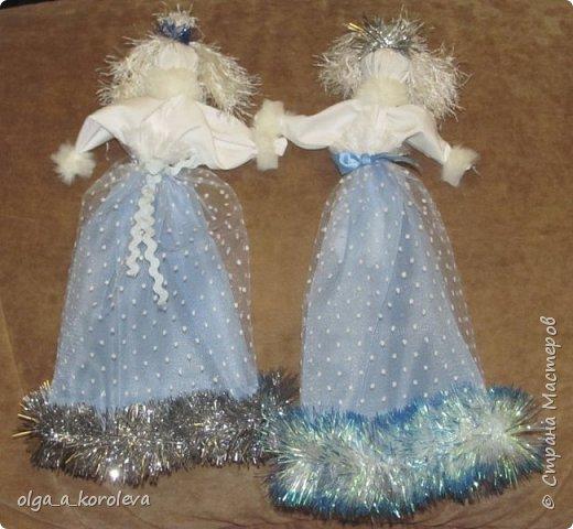 Очень нежные, воздушные куклы-травницы. Набиты лепестками флоксов. фото 4