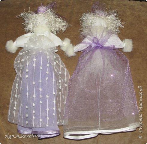 Очень нежные, воздушные куклы-травницы. Набиты лепестками флоксов. фото 6