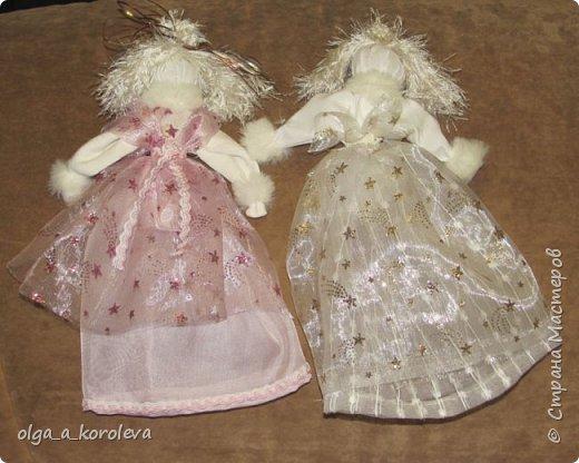 Очень нежные, воздушные куклы-травницы. Набиты лепестками флоксов. фото 7