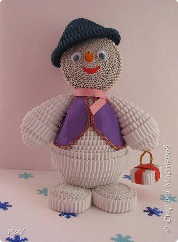 Я Снеговик, сделан  по мастер-классу Елены Жуковой https://stranamasterov.ru/node/854609 .  Так я выгляжу. Я вас тоже вижу, очень приятно познакомиться.   фото 1
