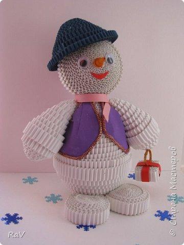 Я Снеговик, сделан  по мастер-классу Елены Жуковой https://stranamasterov.ru/node/854609 .  Так я выгляжу. Я вас тоже вижу, очень приятно познакомиться.   фото 2