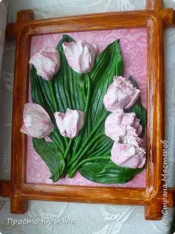 Тюльпаны из соленого теста своими руками пошаговая инструкция 30