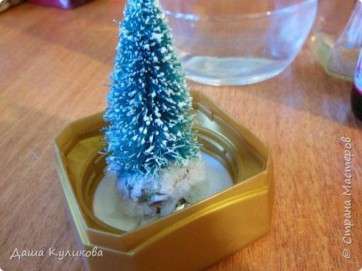 Готовимся к Новому году(Часть 3): Снежный шар или елка в банке. фото 7