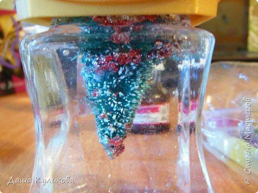 Готовимся к Новому году(Часть 3): Снежный шар или елка в банке. фото 11