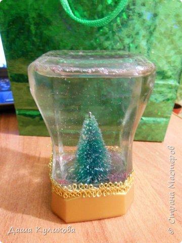 Готовимся к Новому году(Часть 3): Снежный шар или елка в банке. фото 13