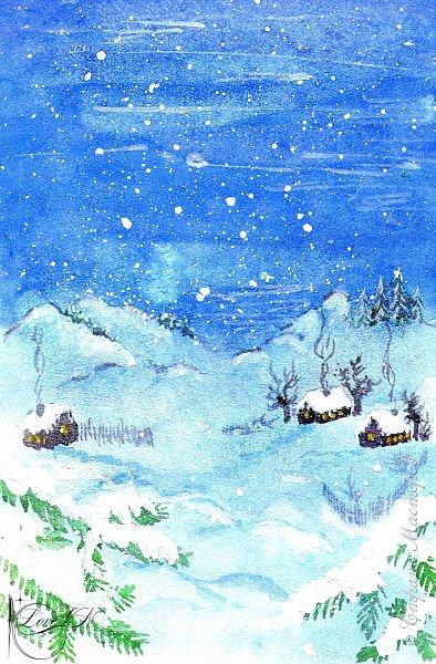 Здравствуйте, жители Страны Мастеров! Сегодня хочется с вами поделиться идеями, как упаковать и украсить новогодние подарочки.  В первом варианте я упаковывала коробку конфет. Обернула коробочку бумагой, сверху наклеила рисунок:  фото 3