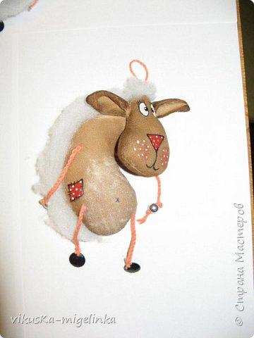 стадо новогодних овечек, идея не моя, нашла в интернете фото 2