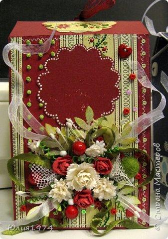 Новогоднее оформление коробочек с конфетами! фото 2