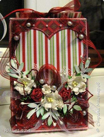 Новогоднее оформление коробочек с конфетами! фото 4