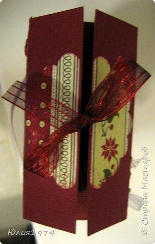 Новогоднее оформление коробочек с конфетами! фото 8