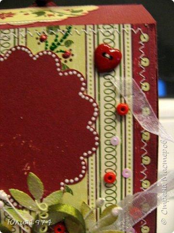 Новогоднее оформление коробочек с конфетами! фото 10