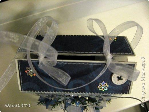Новогоднее оформление коробочек с конфетами! фото 14