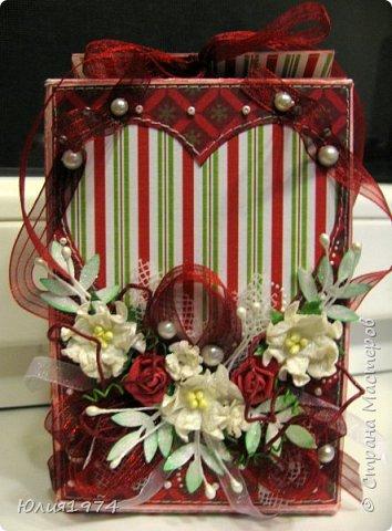 Новогоднее оформление коробочек с конфетами! фото 19