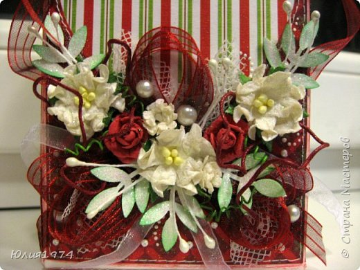Новогоднее оформление коробочек с конфетами! фото 20