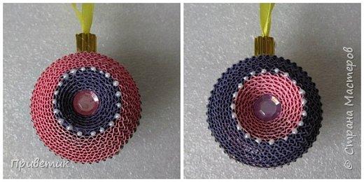 Елена Ивановна порадовала нас новогодним подарком- еще один МК https://stranamasterov.ru/node/864432  У меня, пока, две игрушки. фото 2