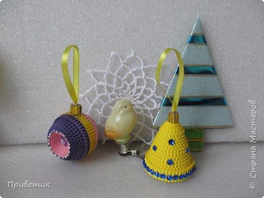 Елена Ивановна порадовала нас новогодним подарком- еще один МК https://stranamasterov.ru/node/864432  У меня, пока, две игрушки. фото 1