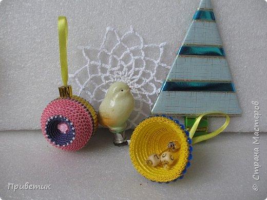 Елена Ивановна порадовала нас новогодним подарком- еще один МК https://stranamasterov.ru/node/864432  У меня, пока, две игрушки. фото 4
