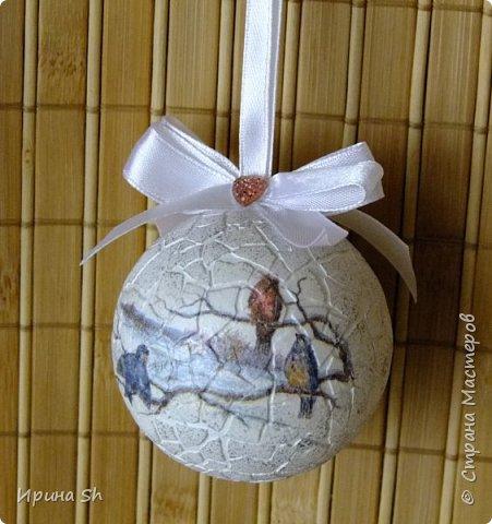 Новогодний шар из пенопласта своими руками фото - Альтаир и К