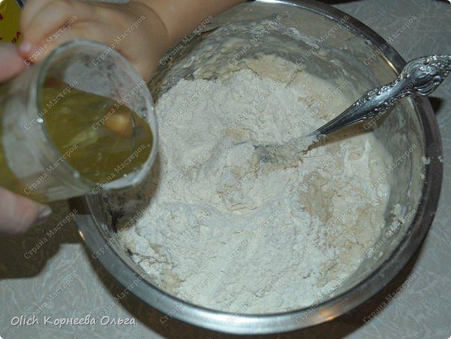 وصفة رشة الطبخ الطبخ السريع necherstveyuschee العجين للفطائر المواد الغذائية صور 12