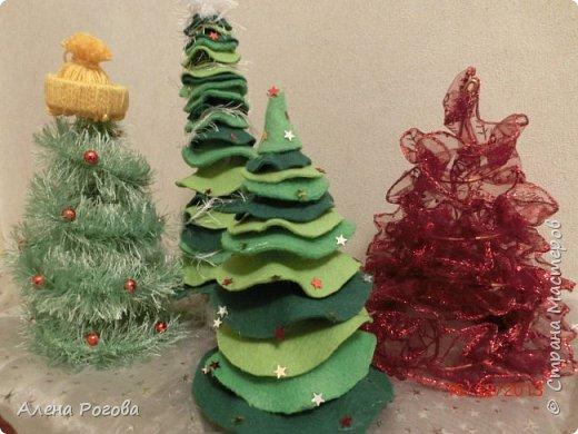 Никогда не успевала сделать поделку- символ к новому году, всегда обходились только елками. Но когда наткнулась в интернете на работы Сергее Федосеева , то не смогла устоять))))  фото 4
