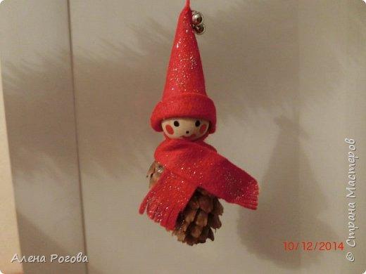 Никогда не успевала сделать поделку- символ к новому году, всегда обходились только елками. Но когда наткнулась в интернете на работы Сергее Федосеева , то не смогла устоять))))  фото 5