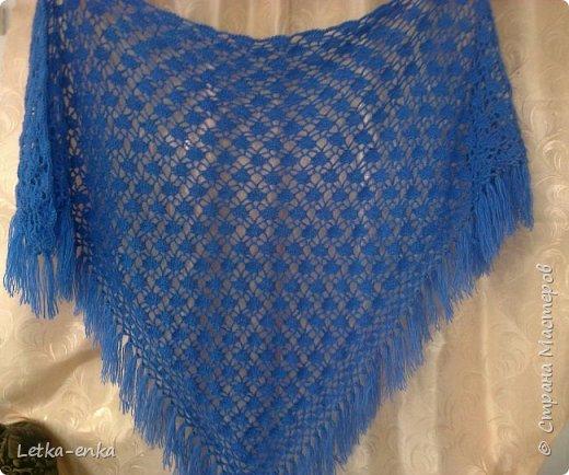 Вязание спицами Шали