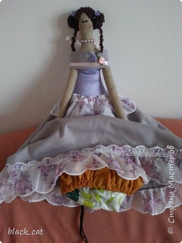 Кукла для хранения пакетов фото 3