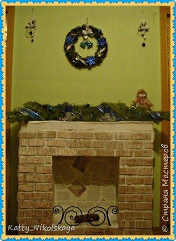 Вот такой камин и елочка у нас в этом году))) фото 2