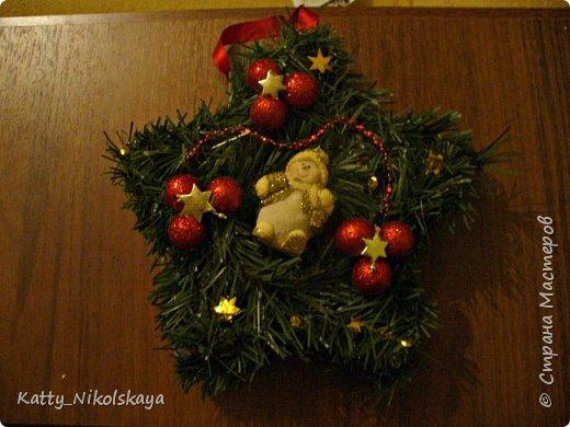 Вот такой камин и елочка у нас в этом году))) фото 3