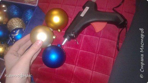 Что-то давно я не появлялась в Стране Мастеров)) Представляю Вам мой новогодний светильник! фото 3