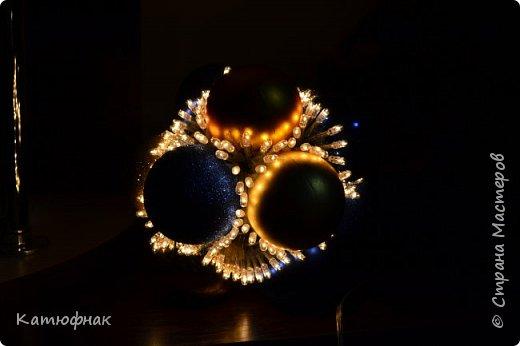 Что-то давно я не появлялась в Стране Мастеров)) Представляю Вам мой новогодний светильник! фото 6