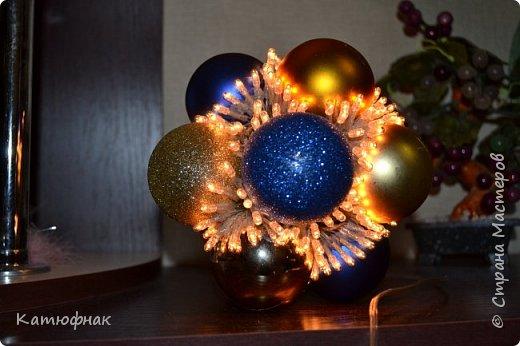 Что-то давно я не появлялась в Стране Мастеров)) Представляю Вам мой новогодний светильник! фото 1